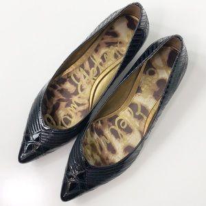 Sam Edelman Illysa Black Patent Leather Flats